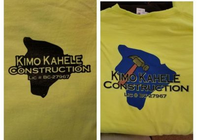 Kimo Kahele Construction 2 Color Shirt